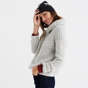Madewell Snowbound Drawstring Pullover Sweater